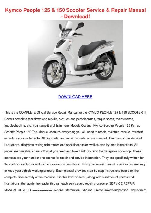 small resolution of kymco person 150 wiring diagram