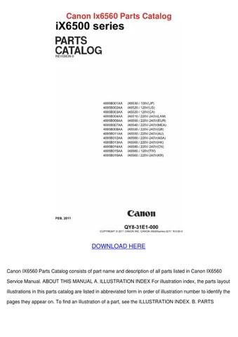 Driver Canon Ix6560 : driver, canon, ix6560, Download, Canon, Ix6560, Sekali