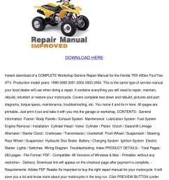 honda 400ex wiring pdf www casei store u2022honda trx400ex fourtrax service repair manual by honda [ 1060 x 1500 Pixel ]