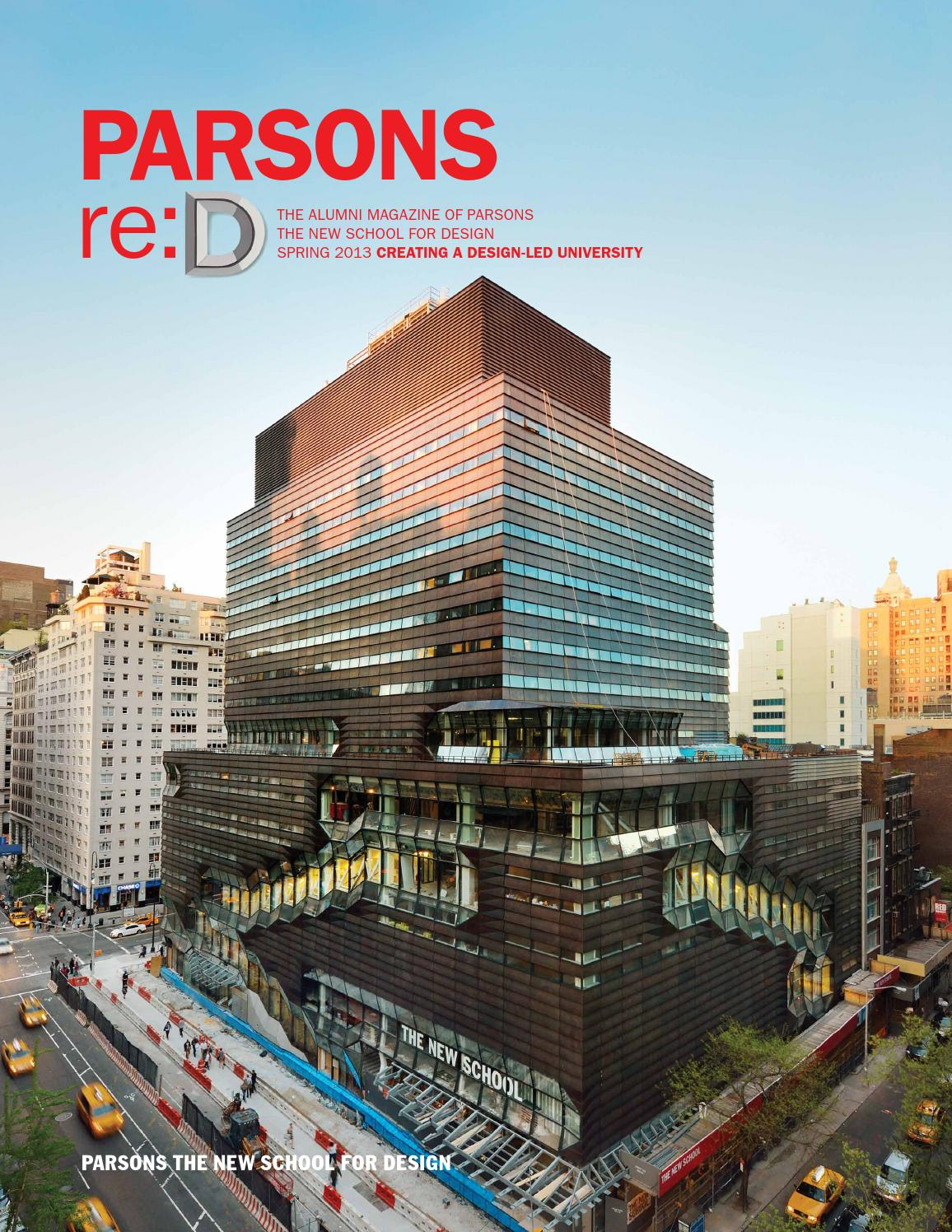 reD Spring 2013 by The New School  Issuu