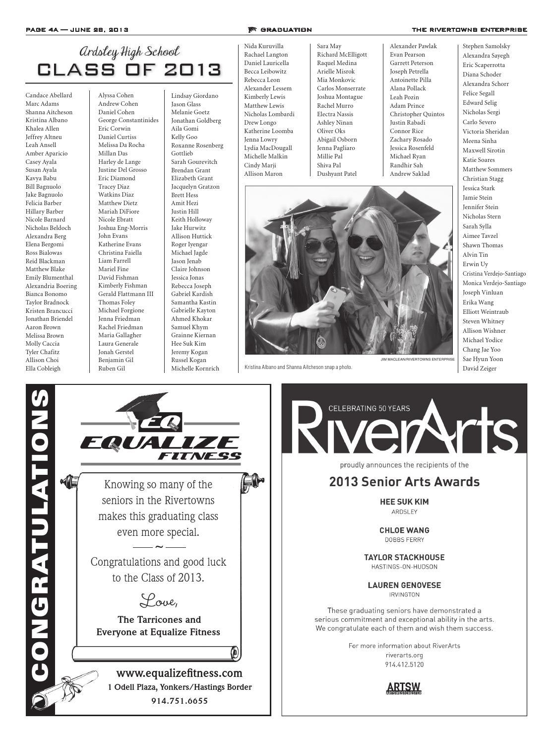 Rivertowns Enterprise Graduation 2013 by The Rivertowns