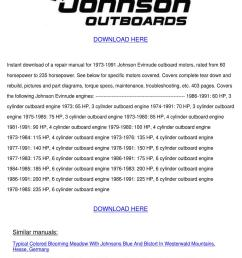 johnson outboard workshop repair manual 73 91 by beckyweatherford issuu [ 1060 x 1500 Pixel ]