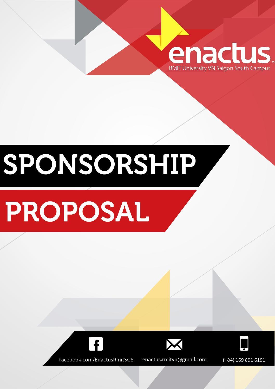 Sponsorship Proposal Enactus RMIT Vietnam SGS 2013 By