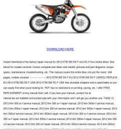 items of ktm sx mx mxc exc egs dxc top end gasket kit pdf file buy it now or best offer 27d 16h and when you really need a book to read  [ 1060 x 1500 Pixel ]