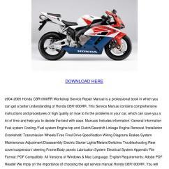 2005 Crf50 Wiring Diagram Deh P5000ub Honda Nemetas Aufgegabelt Info 2004 Cbr1000rr Workshop Service Re By Youngvanburen Issuu