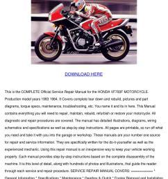 honda vf750f motorcycle service repair manual [ 1060 x 1500 Pixel ]