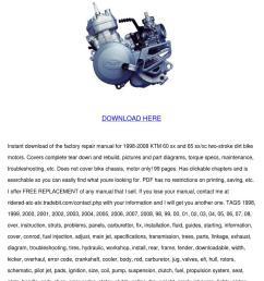 ktm 60sx 65sx 85sx bike engine workshop repair manual service manual ktm 65sx ktm service repair manual download pdf tradebit  [ 1060 x 1500 Pixel ]
