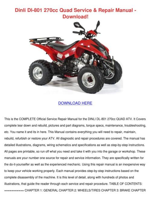 small resolution of dinli wiring diagram wiring diagram repair guides dinli atv wiring diagram