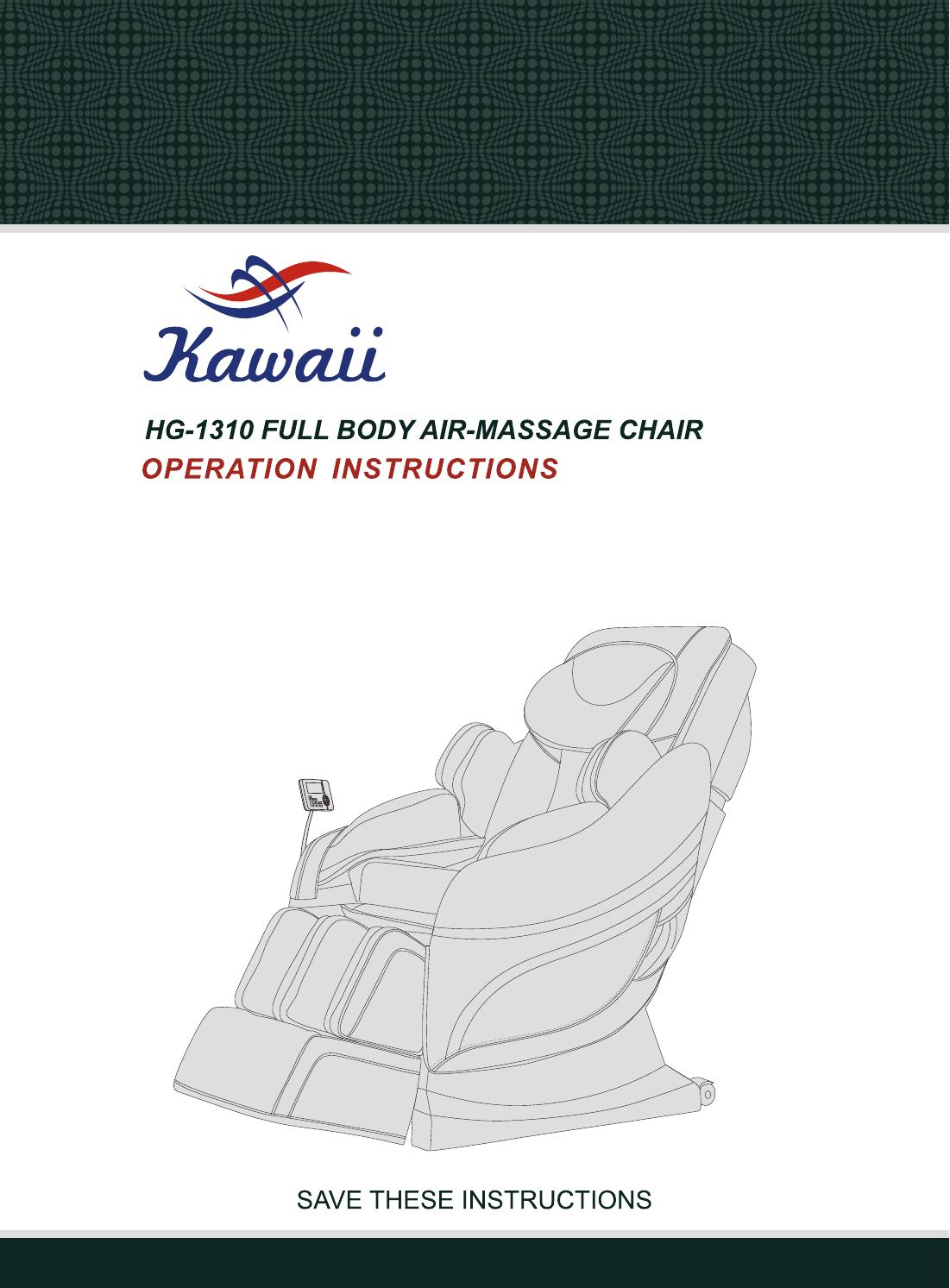 kawaii massage chair windsor makers hg 1310 manual book by issuu