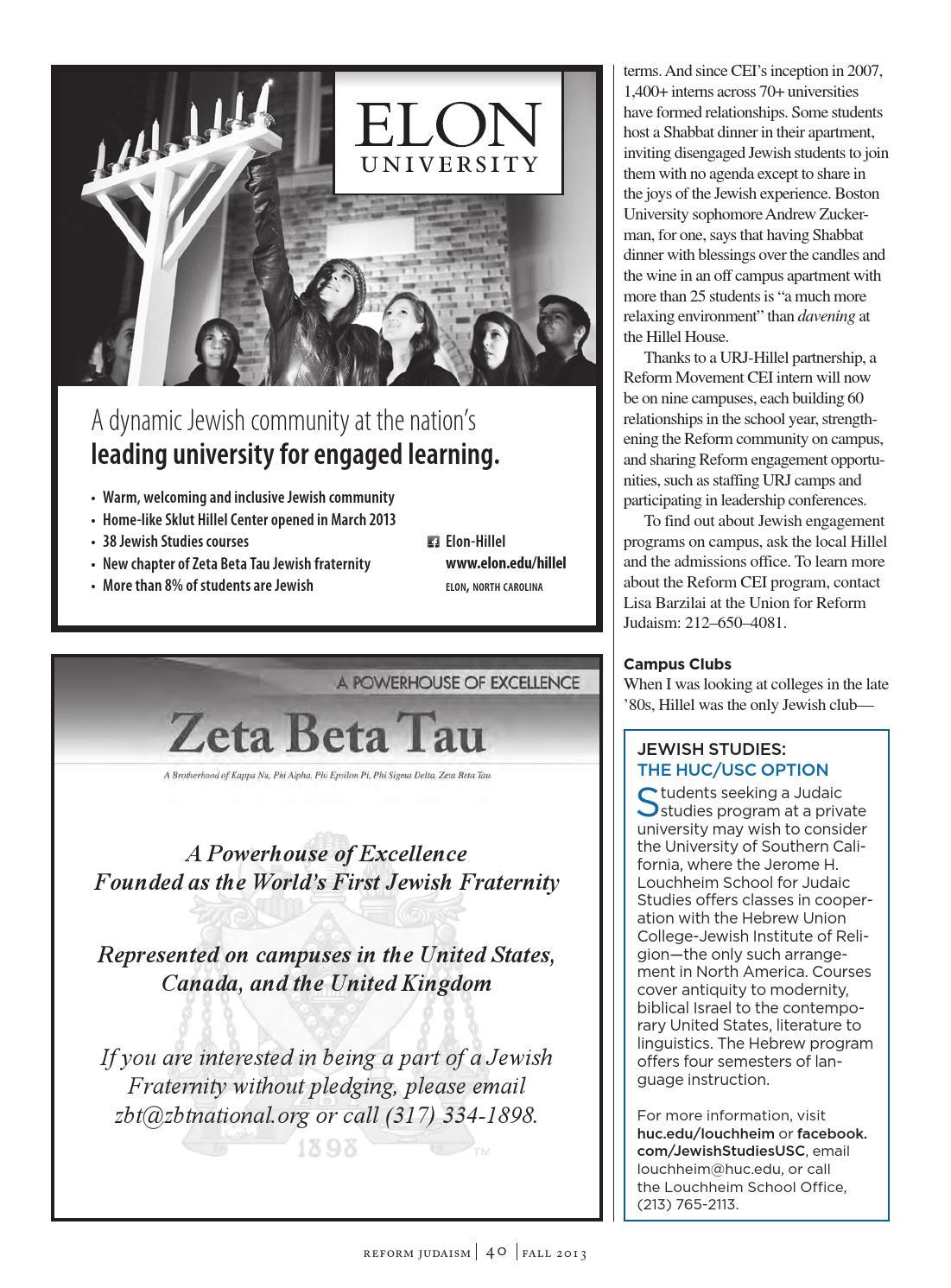 Reform Judaism Magazine Fall 2013 by Reform Judaism