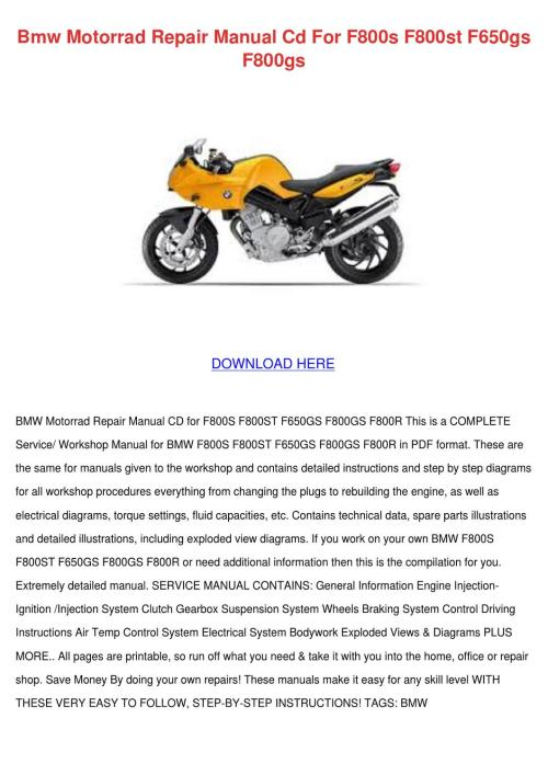 small resolution of bmw f800st wiring diagram wiring diagram centre