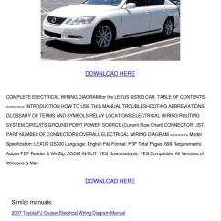 Volvo Xc90 Wiring Diagram 66 Mustang Lexus Gs300 Electrical By Forrestegan - Issuu