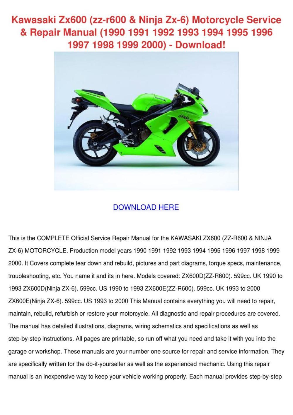 medium resolution of kawasaki zx600 zz r600 ninja zx 6 motorcycle