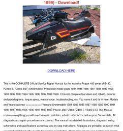 yamaha phazer 480 series snowmobile pz480 pz4 by mindylessard issuu  [ 1060 x 1500 Pixel ]