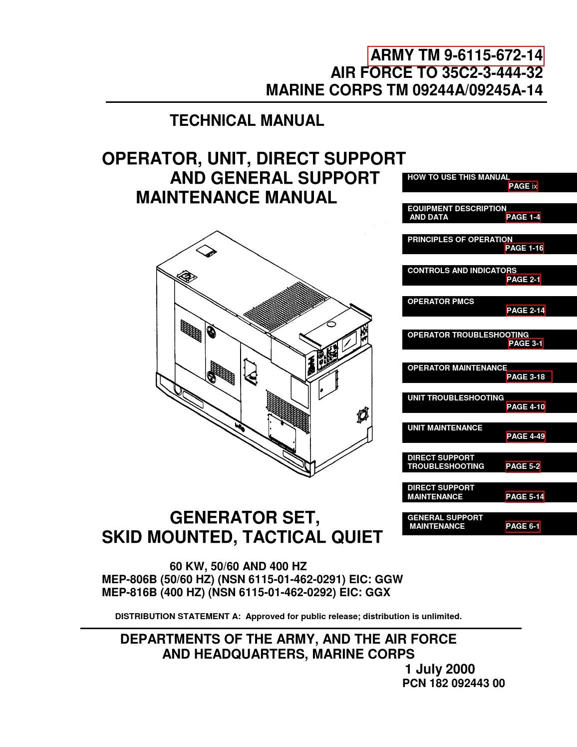 hight resolution of generator wire diagram 5 pin military