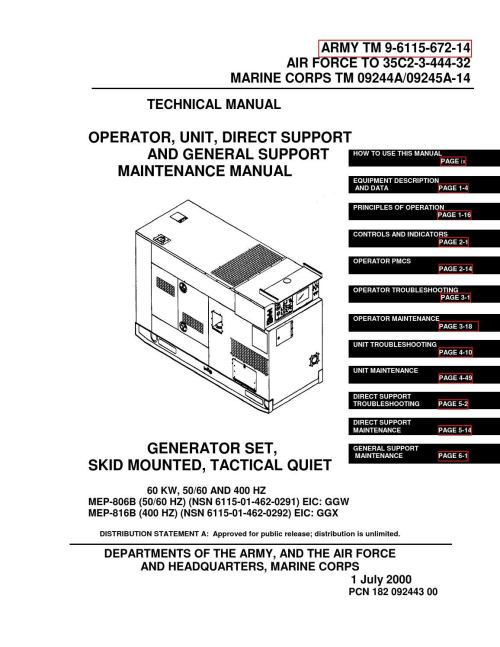 small resolution of generator wire diagram 5 pin military