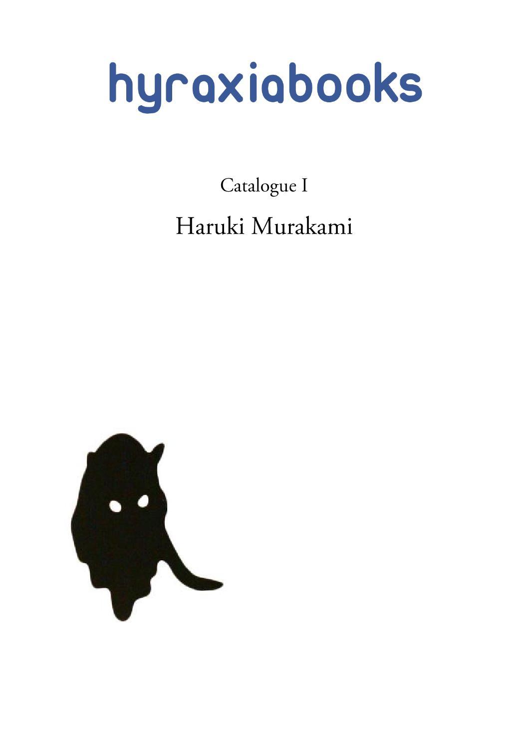 Hyraxia Books Catalogue 1 Haruki Murakami by Simon