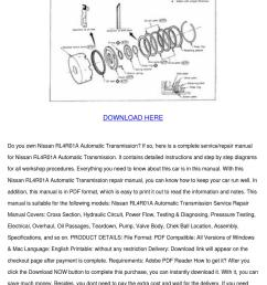 nissan manual transmission diagram [ 1060 x 1500 Pixel ]