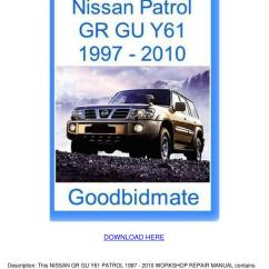 Nissan Patrol Alternator Wiring Diagram Three Tier Client Server Gq Ac Somurich