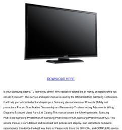 samsung flat screen tv wiring diagram [ 1060 x 1500 Pixel ]