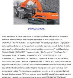 doosan s340lc v excavator parts manual downlo by philipppeltier issuu [ 1060 x 1500 Pixel ]
