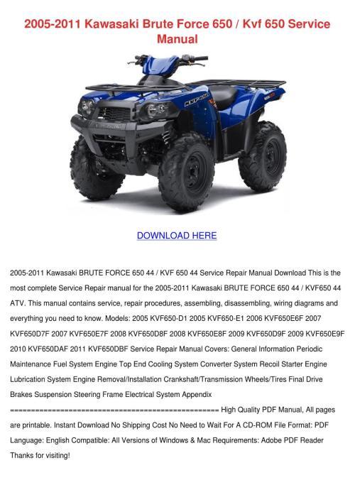 small resolution of 2005 2011 kawasaki brute force 650 kvf 650 se