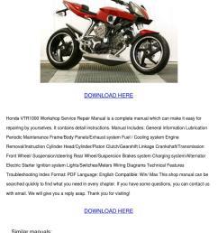 honda vtr1000 workshop service repair manual [ 1060 x 1500 Pixel ]