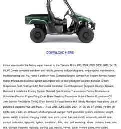 05 raptor 660 transmission rebuild [ 1060 x 1500 Pixel ]