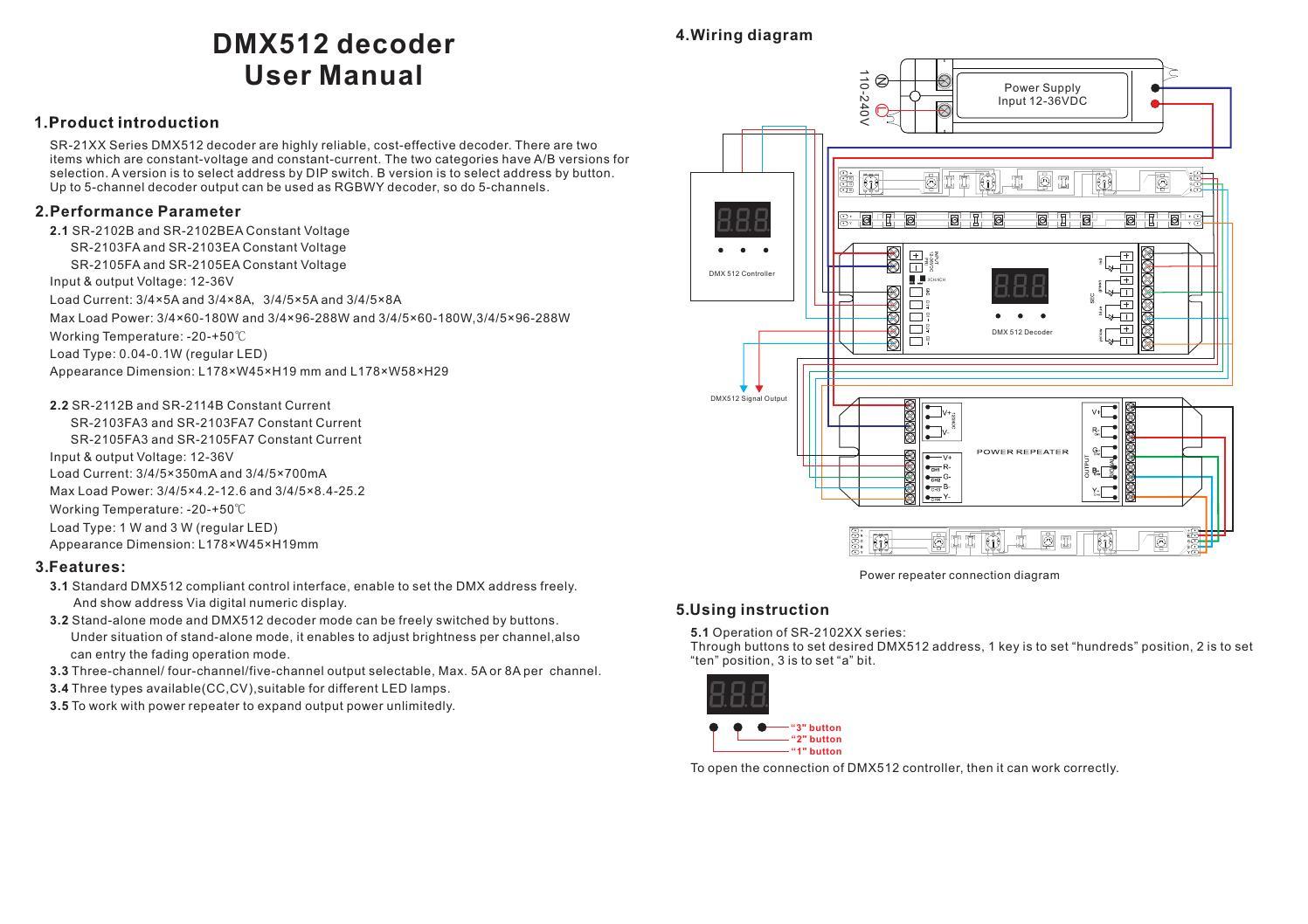 hight resolution of dmx512 wiring diagram