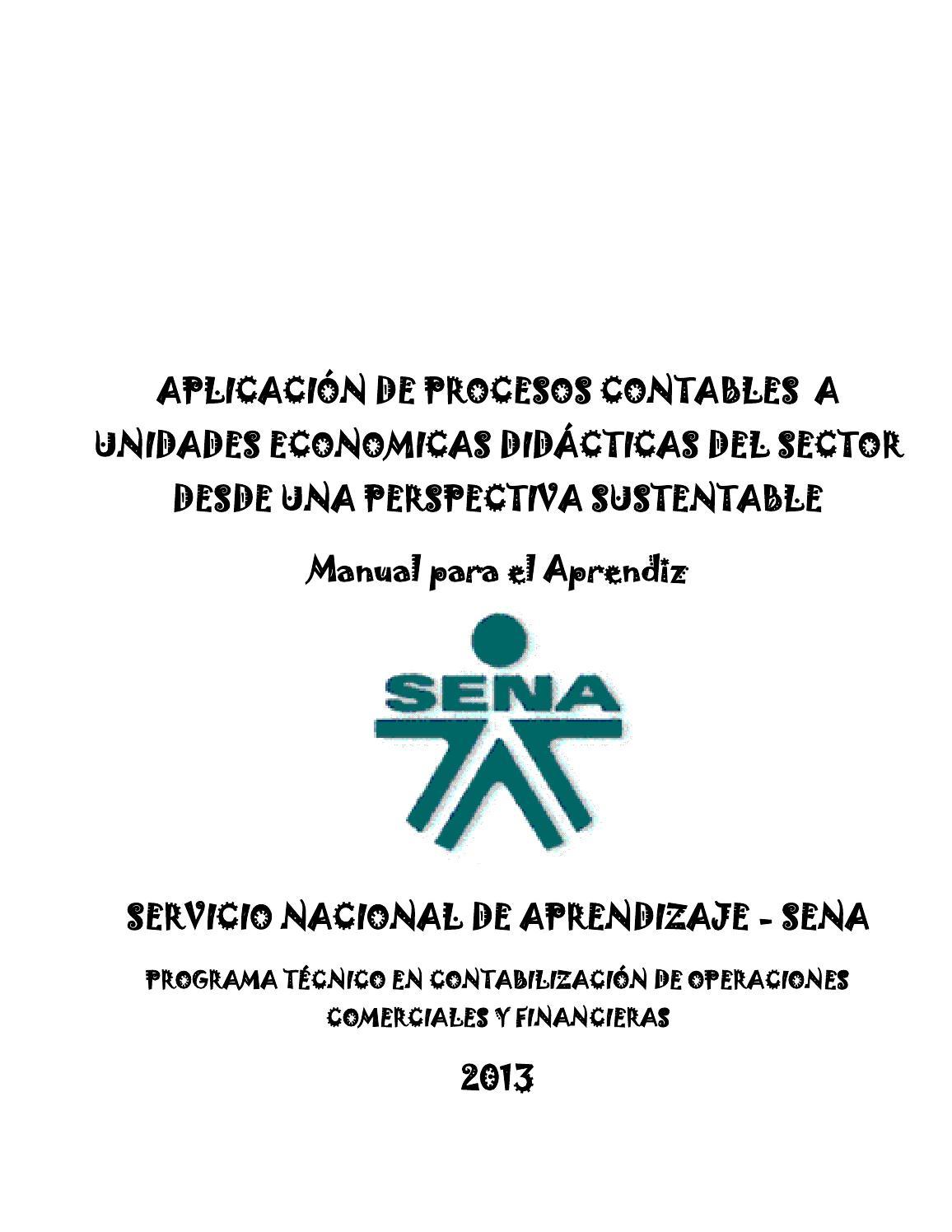 Manual proyecto u e d tecnico en contabilizacion de