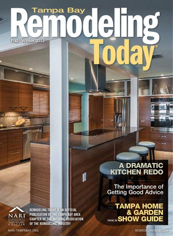 kitchen remodeling tampa bakers racks for kitchens today – bay by remodelinform - issuu