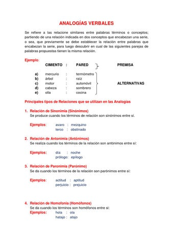 Analogas verbales libro r1 by ProVite  Issuu