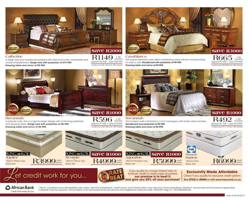 Geen And Richards Bedroom Suites Catalogue 2017 ...