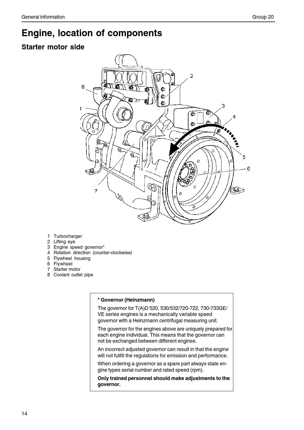hight resolution of volvo work shop manual 520 733