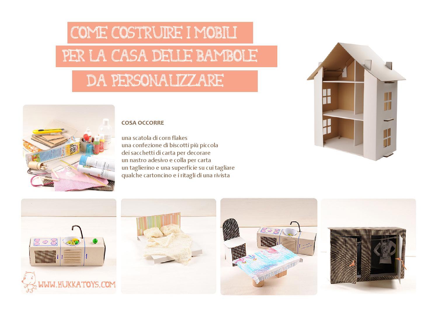 Mobili Per Casa Delle Bambole Fai Da Te : Mobili per casa delle barbie come costruire una casa delle