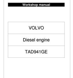 page 1 workshop manual volvo tad941ge engine by power generation issuu at cita asia volvo penta oxi engine wiring schematic  [ 1058 x 1497 Pixel ]