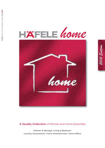 Hafele home 2012 by Cutit Kitchens  Joinery  Issuu