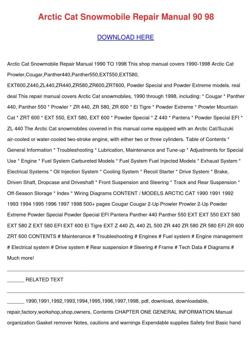 medium resolution of 1997 arctic cat 580 ext wiring diagram