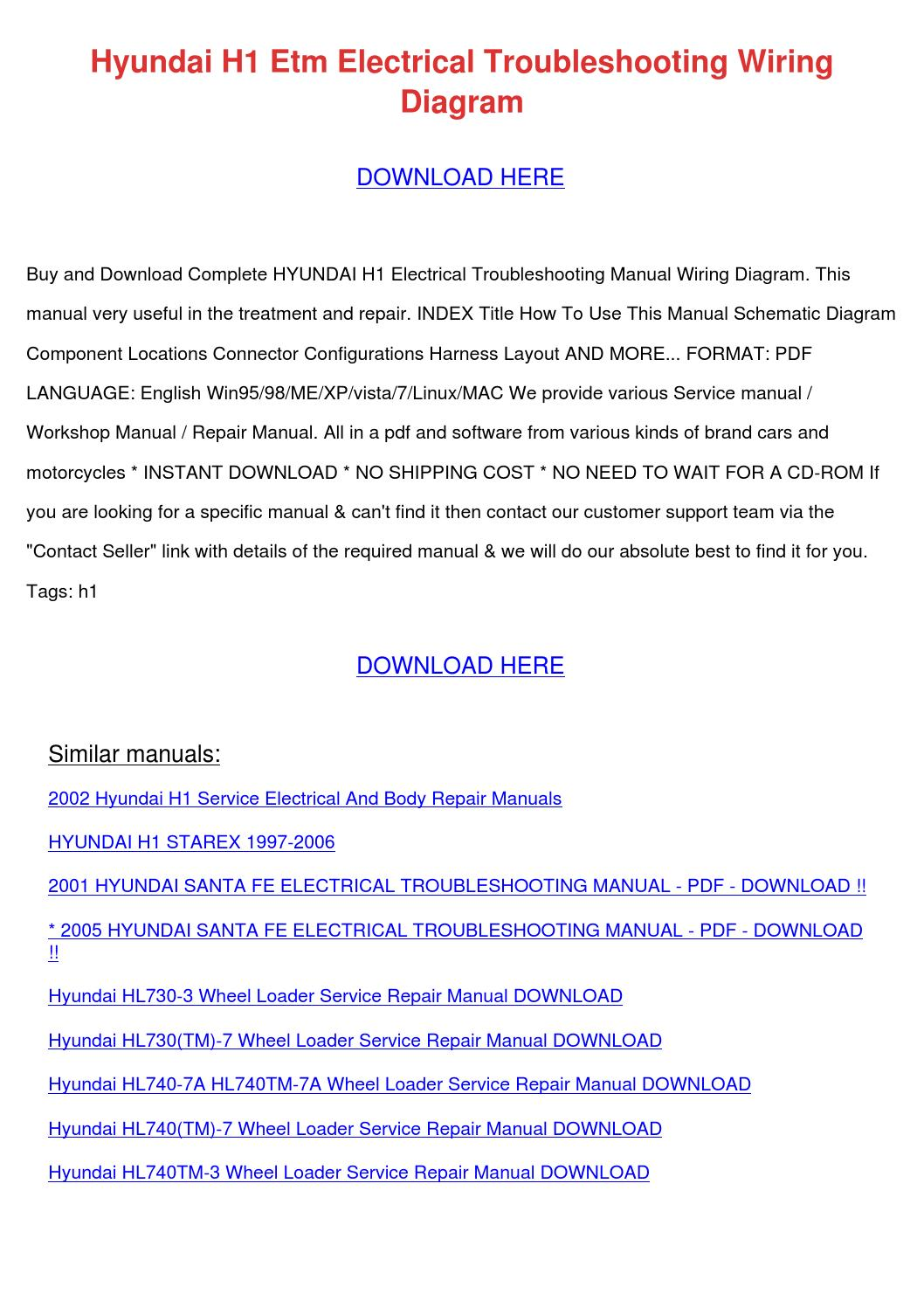 hight resolution of hyundai h1 etm electrical troubleshooting wir