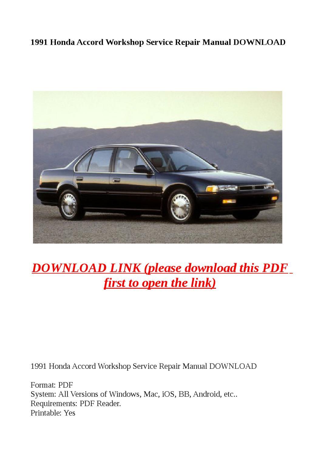1991 Honda Civic Battery Wiring Diagram Electrical Problem 1991