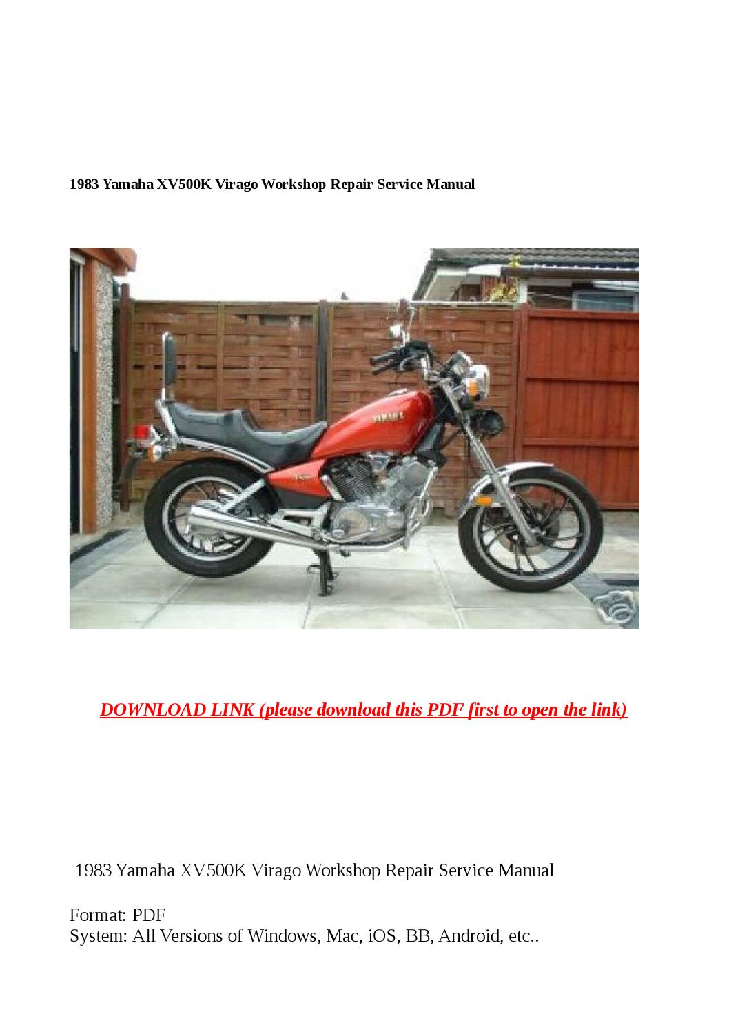 Virago 920 Wiring Diagram Free Download Wiring Diagram Schematic