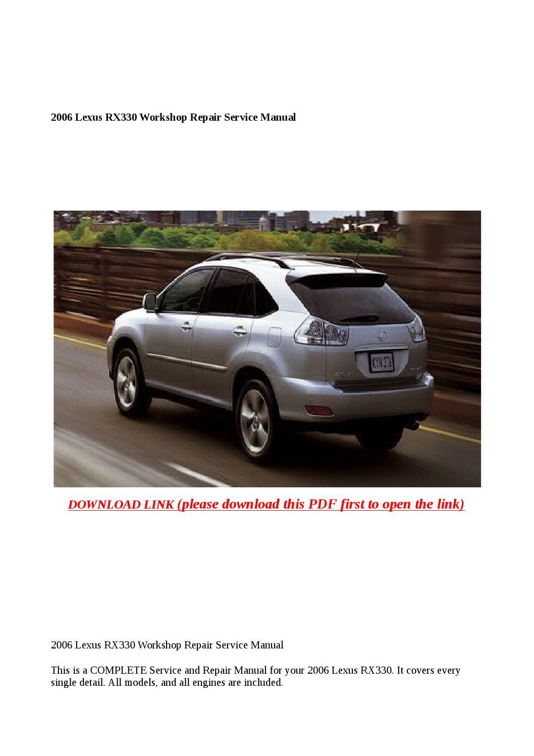 35a67221f9a lexus rx300 repair manual ebook