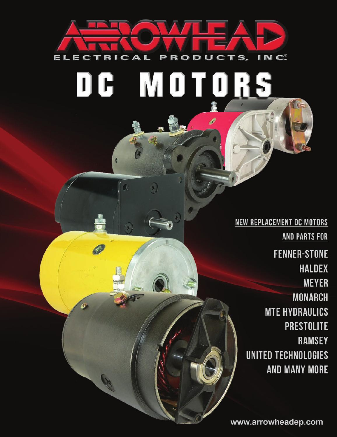 hight resolution of arrowhead electrical products dc motors catalog by arrowhead electrical products issuu