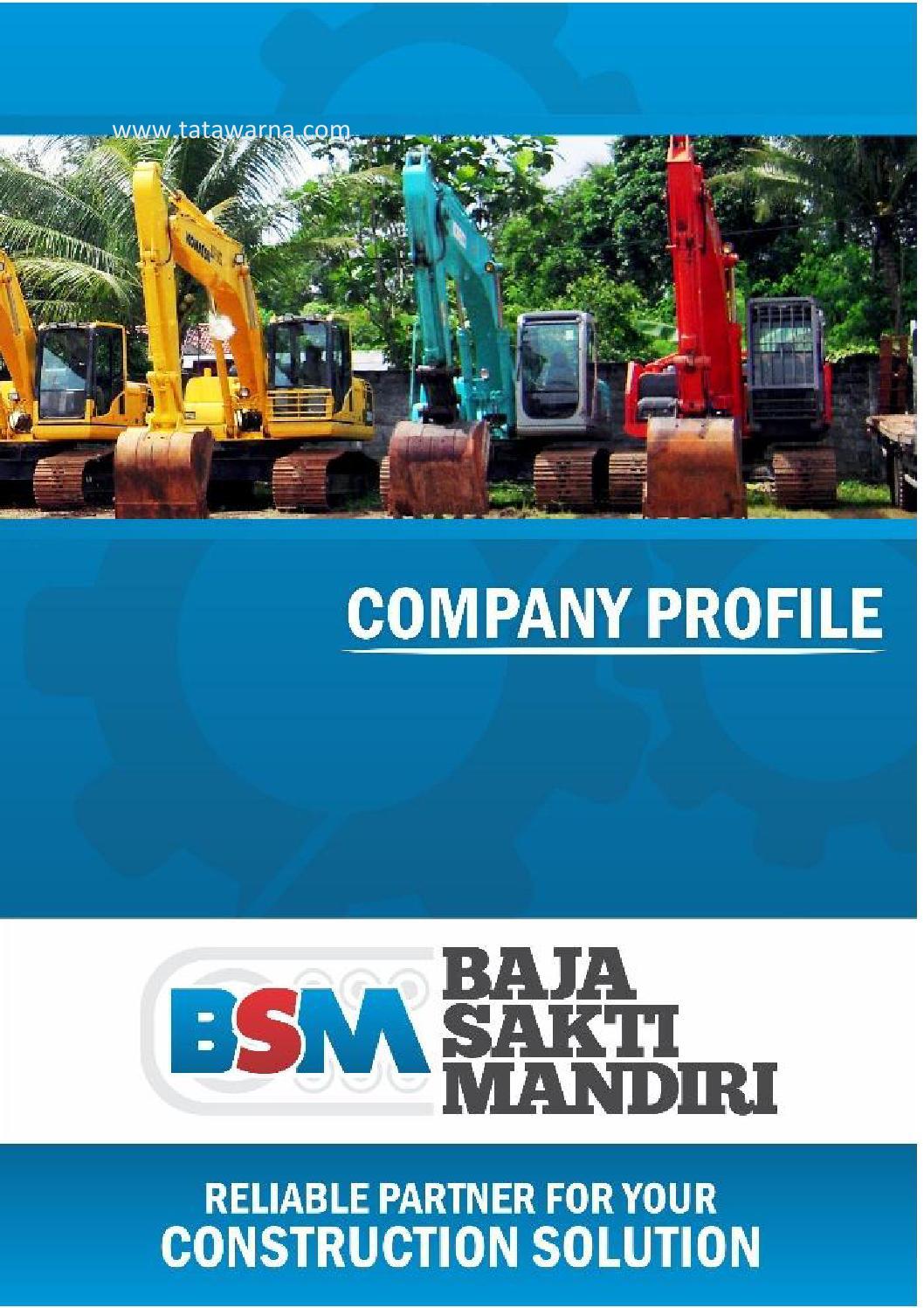 Contoh Company Profile Kontraktor : contoh, company, profile, kontraktor, Contoh, Desain, Company, Profile, Perusahaan, Persewaan, Berat, Kontraktor, Warna, Issuu