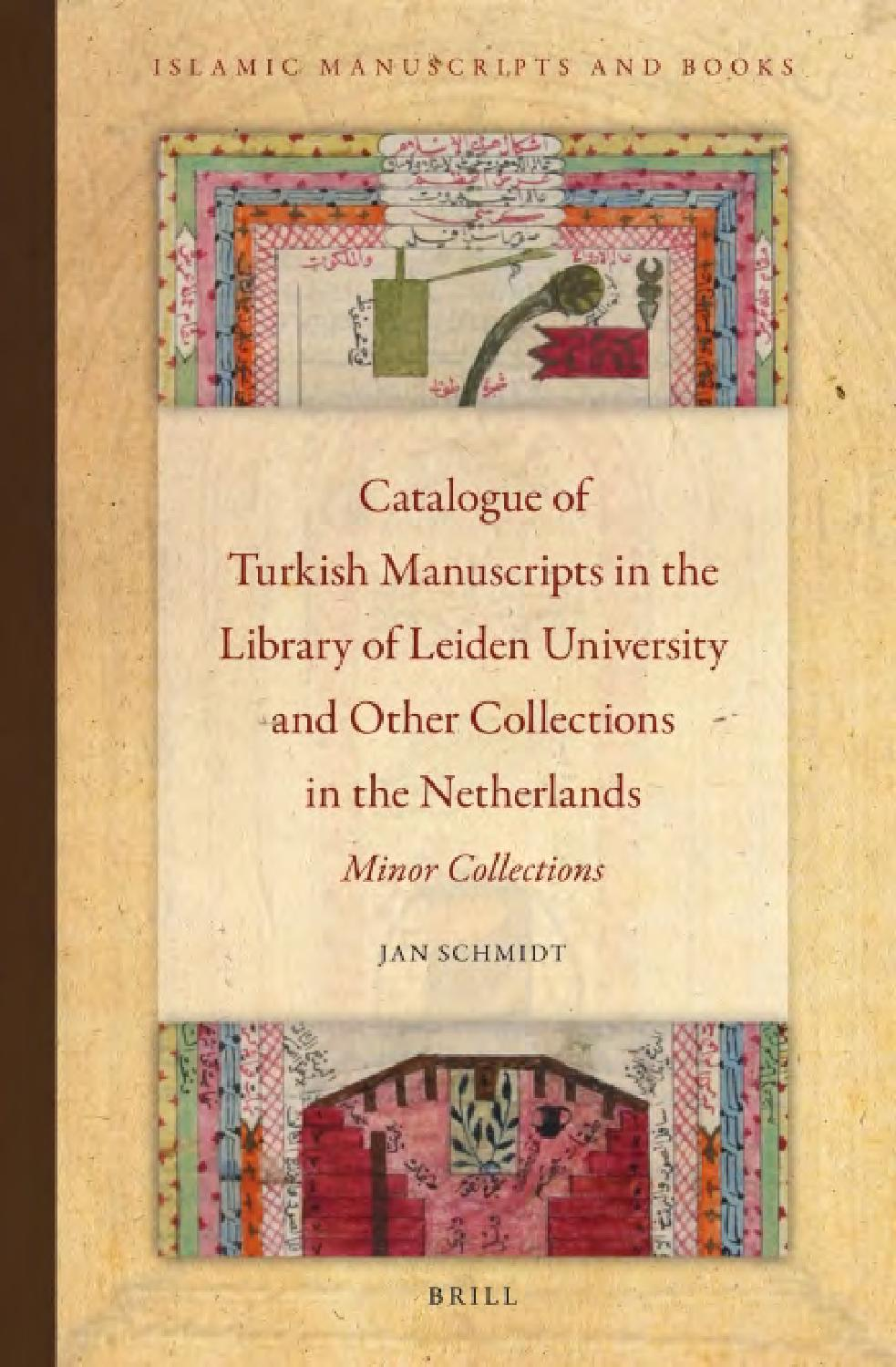 medium resolution of catalogue of turkish manuscripts in the library of leiden university and other collections in the n by mayita issuu