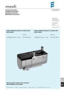 espar heater wiring diagram