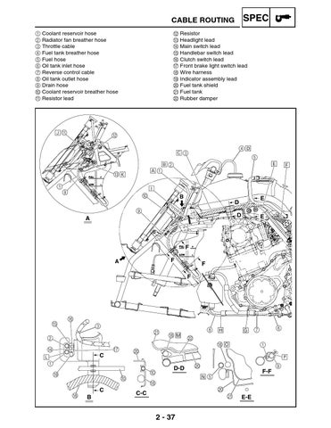 Raptor 700 service manual lit 11616 19 13 by jesus ernesto