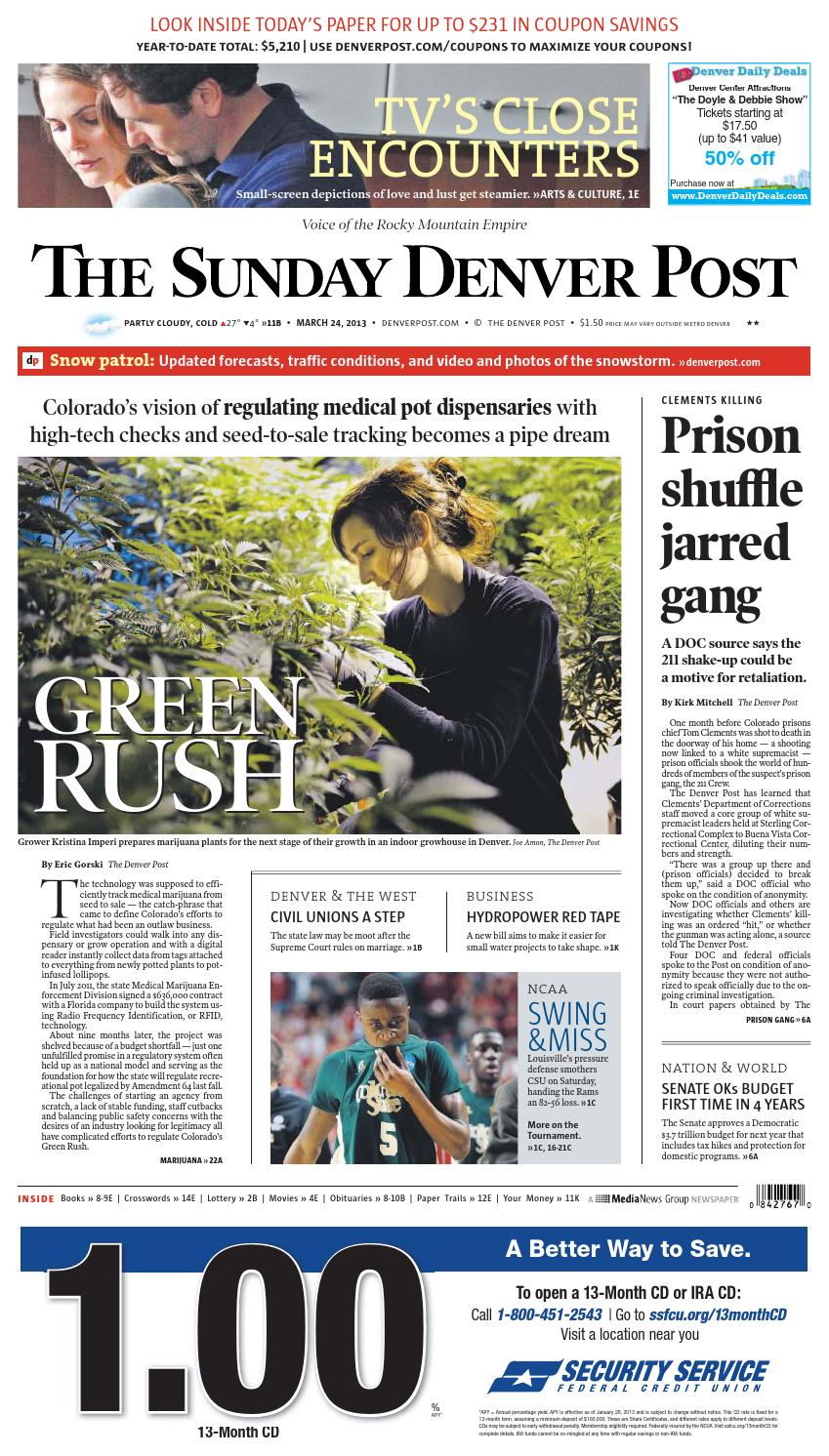 March 24 2013 The Denver Post By Peter Dettmann Issuu