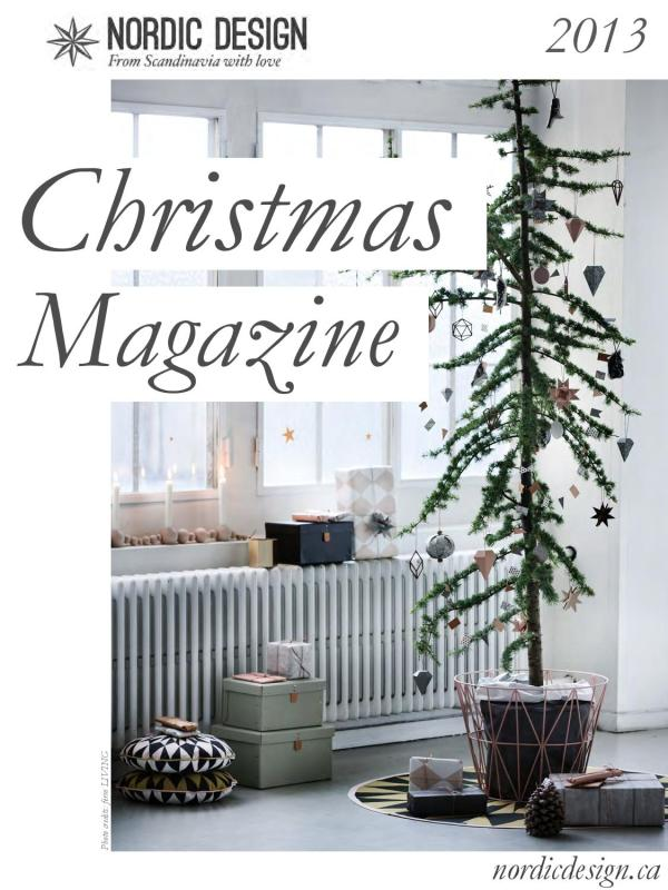 Nordic Design 2013 Christmas Magazine - Issuu