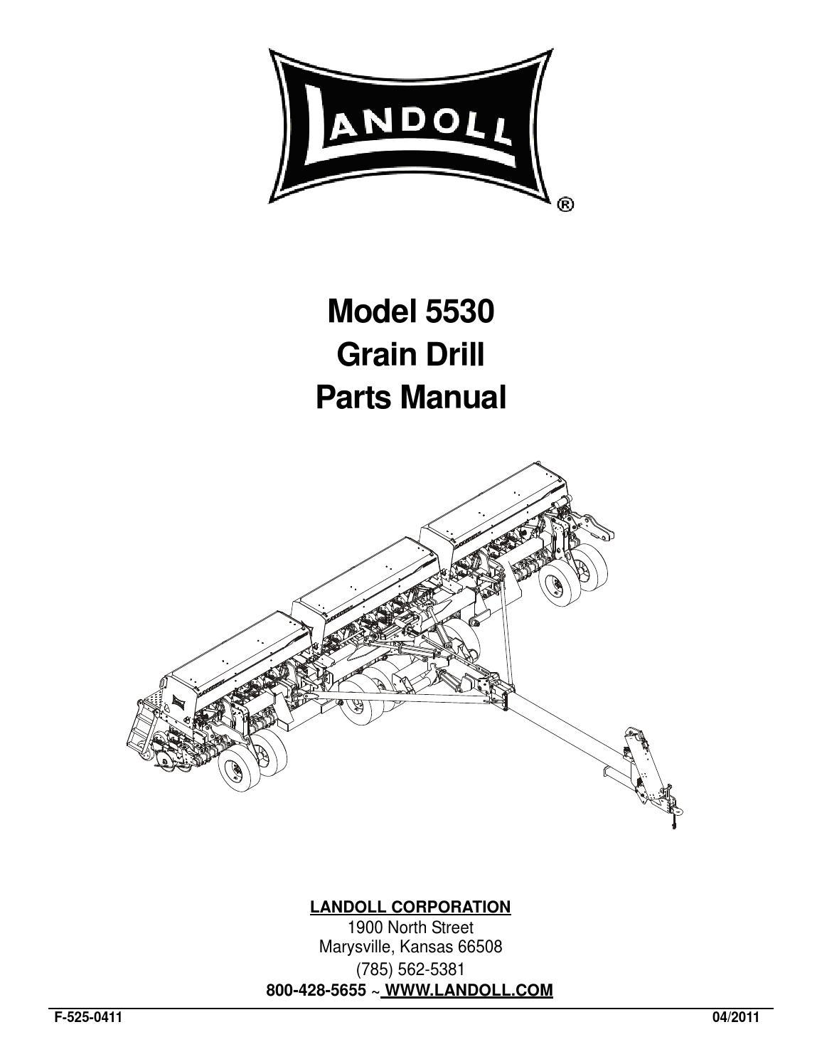 5530 30 40 grain drill parts manual f 525 0411 by anton